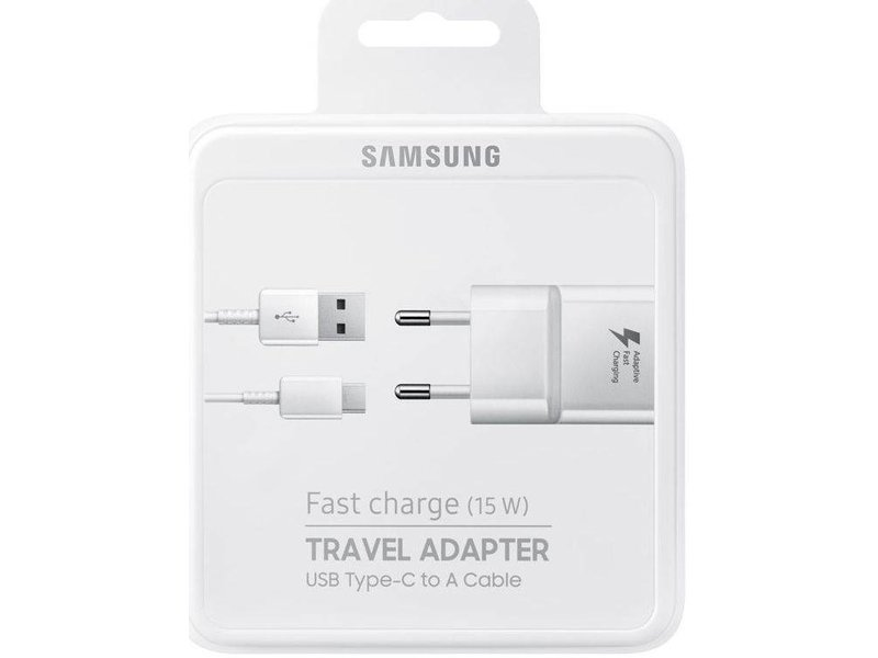 Samsung Originele Samsung USB Type-C Fast Charger 1M Wit
