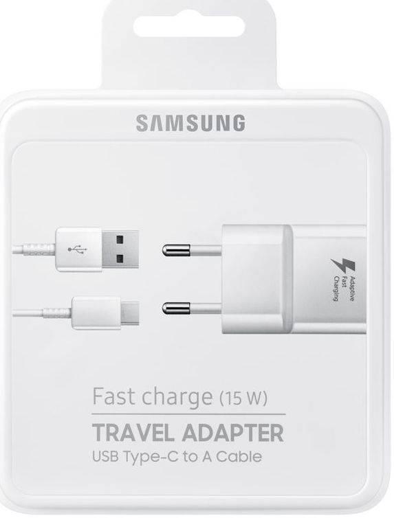 Samsung Originele Samsung USB Type-C Fast Charger 1M Wit