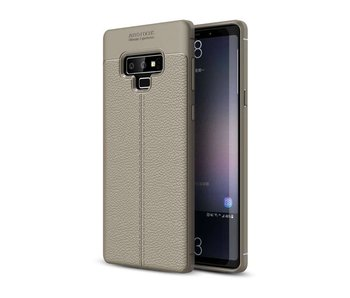 Just in Case Soft Design TPU Samsung Galaxy Note 9 Case (Grijs/Champagne)