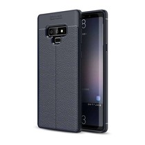 Just in Case Soft Design TPU Samsung Galaxy Note 9 Case (Blauw)