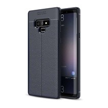 Just in Case Soft Design TPU Samsung Galaxy Note 9 Case (Blauw)