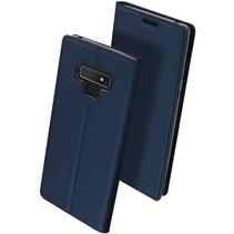 DUX DUCIS Samsung Galaxy Note 9 Wallet Case Slimline - Blauw