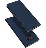 DUX DUCIS DUX DUCIS Samsung Galaxy Note 9 Wallet Case Slimline - Blauw
