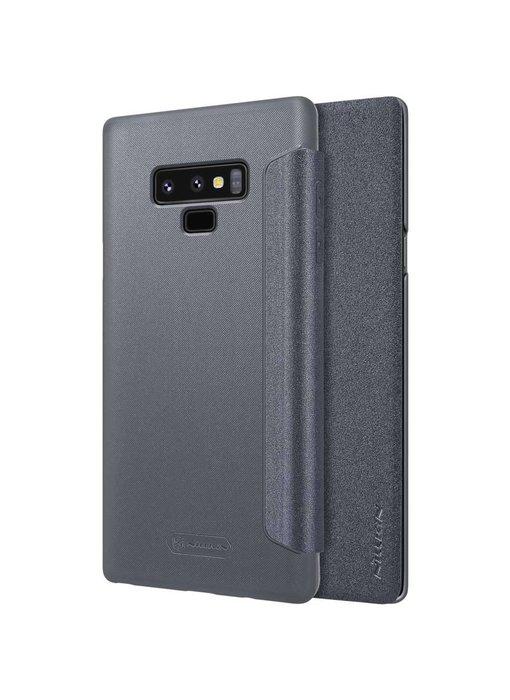 Nillkin Sparkle Leather Case Samsung Galaxy Note 9 (Zwart)