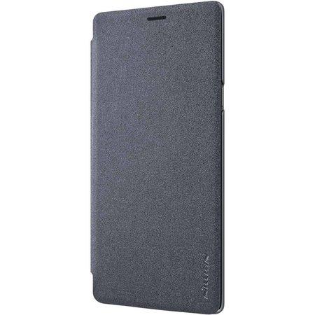 Nillkin Nillkin Sparkle Leather Case Samsung Galaxy Note 9 (Zwart)