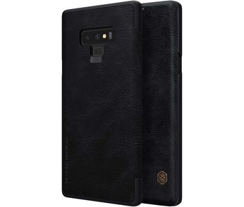 Nillkin Qin Leather Case Samsung Galaxy Note 9 (Zwart)
