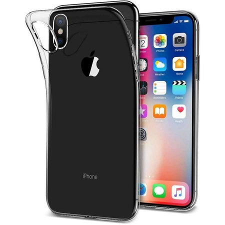 Just in Case Just in Case Apple iPhone Xs Max Soft TPU case (Transparant)