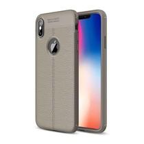Just in Case Soft Design TPU Apple iPhone Xs Max Case (Grijs)