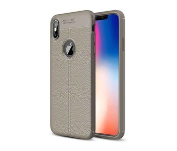 Just in Case Soft Design TPU Apple iPhone Xs Max Case (Grijs)