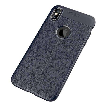 Just in Case Just in Case Soft Design TPU Apple iPhone Xs Max Case (Blauw)
