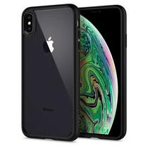 Spigen Ultra Hybrid Case Apple iPhone Xs Max (Mat Zwart)
