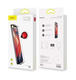 Baseus Baseus Full Cover Tempered Glass Apple iPhone Xs Max - Zwart