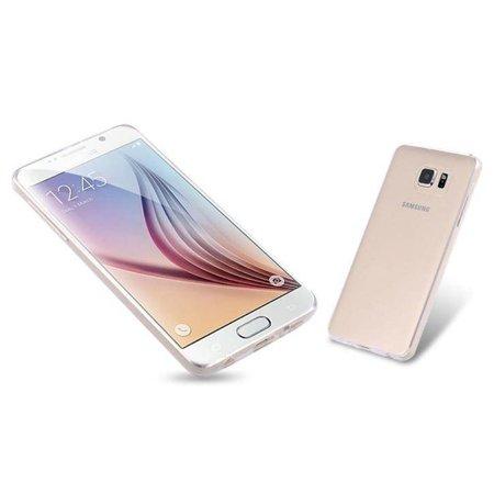 Ultra dun siliconen soft case Samsung Galaxy S6 - Transparant