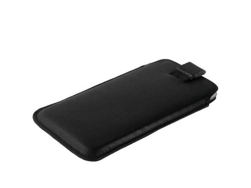 Leren insteekhoes iPhone 6(s) Plus - Zwart