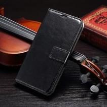 Wallet Book Case Zwart Samsung Galaxy S7