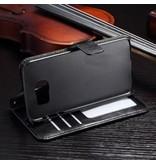 Mobiware Wallet Book Case Zwart Samsung Galaxy S7