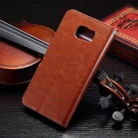 Mobiware Wallet Book Case Bruin Samsung Galaxy S7