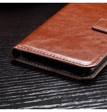 Mobiware Wallet Book Case Bruin Samsung Galaxy S7