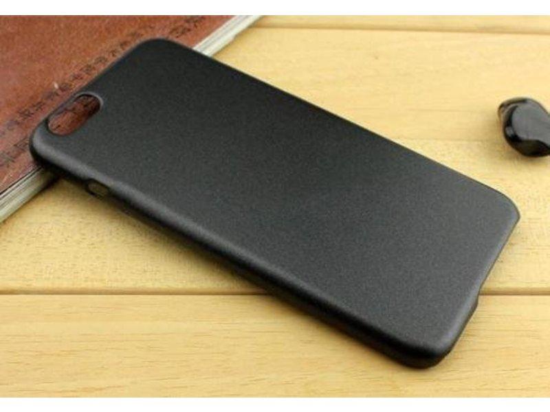 Metallic Hard Case iPhone 6(s) Plus - Zwart