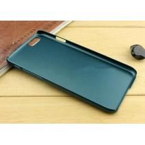 Metallic Hard Case iPhone 6(s) Plus - Donkergroen
