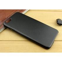 Metallic Hard Case iPhone 6(s) - Zwart