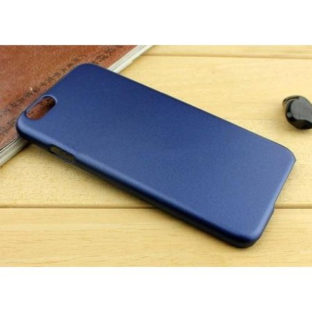 Metallic Hard Case iPhone 6(s) - Blauw