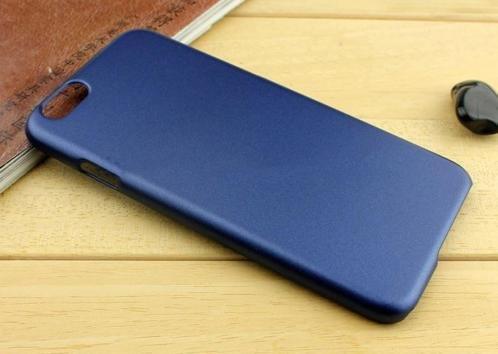 Metallic Hard Case iPhone 6(s) - Blauw