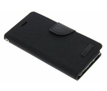 Mercury stoffen Book Case iPhone 6(s) - Zwart