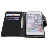 Mercury Mercury stoffen Book Case iPhone 6(s) - Zwart