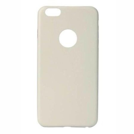 Leren design Hard Case iPhone 6(s) - Wit