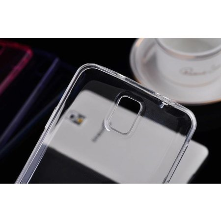 Super dun transparant soft case Samsung Galaxy S6 Edge Plus