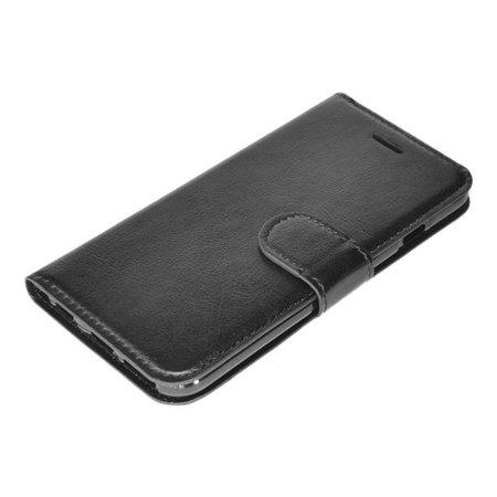 Zwart luxe flip case iPhone 5C
