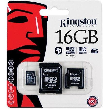 Kingston Kingston Micro SD kaart 16 GB