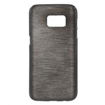 TPU Case Brushed Zwart Samsung Galaxy S7