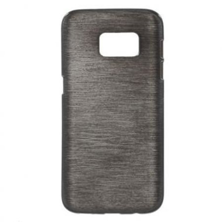 TPU Case Brushed Zwart Samsung Galaxy S7