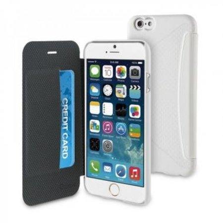Muvit Muvit Easy Folio Card Case Apple iPhone 6(s) Plus - Wit