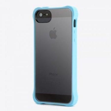 Griffin Griffin Survivor Clear Case Blauw/Transparant voor Apple iPhone 5/5S/SE