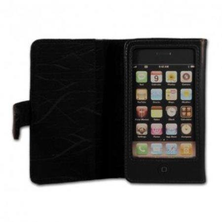 Belkin Belkin Book Case  Folio Zwart voor Apple iPhone 4/4S