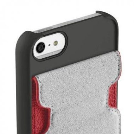 Belkin Belkin Snap Folio Case Rood voor Apple iPhone 5/5S/SE