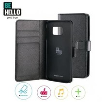 BeHello Wallet Case Zwart voor Samsung Galaxy S6