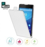 BeHello BeHello Wallet Flip Case Wit voor Sony Xperia Z3 Plus