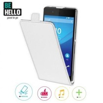 BeHello Wallet Flip Case Wit voor Sony Xperia Z3 Plus