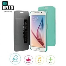 BeHello Book Case Groen voor Samsung Galaxy S6