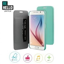 BeHello Book Case Groen voor Samsung Galaxy S6