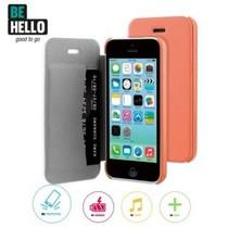 BeHello Book Case Coral voor Apple iPhone 5C