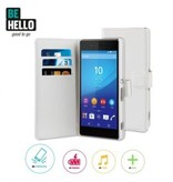 BeHello BeHello Wallet Case Wit Voor Sony Xperia Z3 Plus
