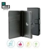 BeHello BeHello Wallet Case Zwart Voor Sony Xperia Z3 Plus