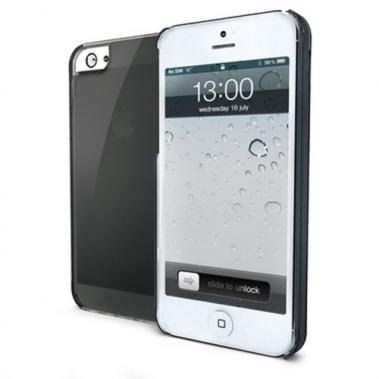 Celly Celly Gelskin Zwart voor Apple iPhone 5/5S/SE
