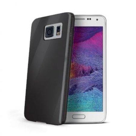Celly Celly Gelskin Zwart voor Samsung Galaxy S6
