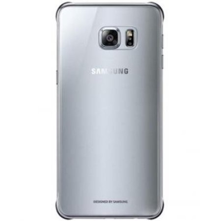 Samsung Samsung Clear Cover Zilver voor Samsung Galaxy S6 Edge+